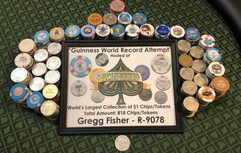 Casino Chip Guinness World Record