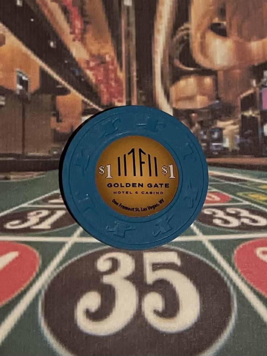 Golden Gate Casino - New $1 Chip