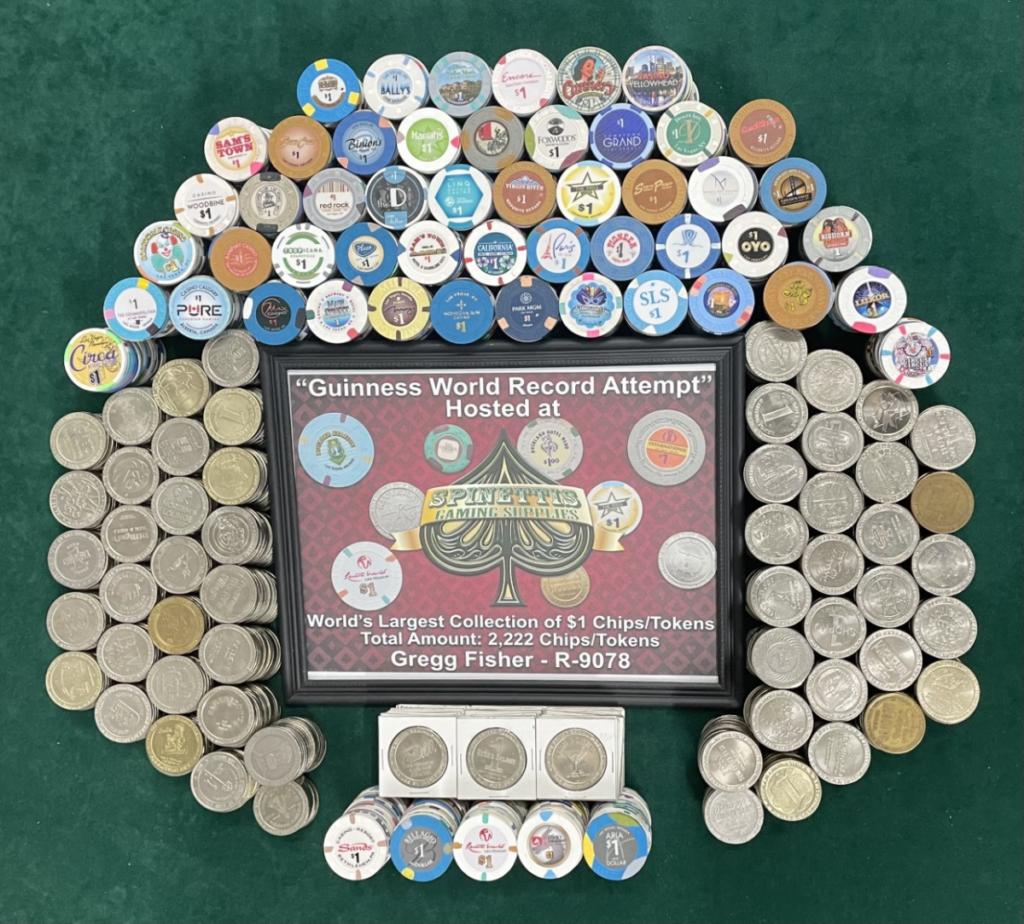 Casino Chip World Record Update from Gregg Fisher